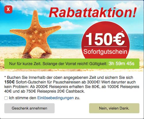 5vorflug Gutschein bei Partnerportal – 150€ Cashback