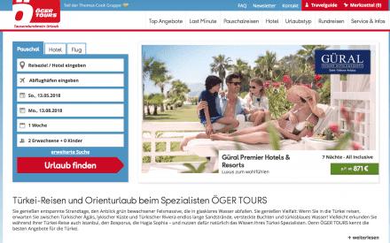 Öger Tours Gutschein und Rabatte
