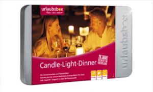 Urlaubsbox Candle-Light-Dinner Deluxe - Deutschland