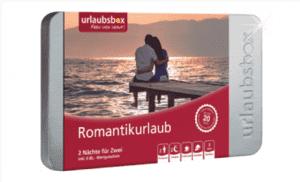 Urlaubsbox Romantikurlaub
