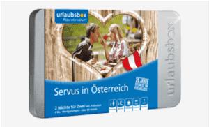 Urlaubsbox Servus in Österreich