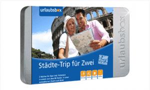 Urlaubsbox Städtetrip für Zwei