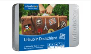 Urlaubsbox Urlaub in Deutschland