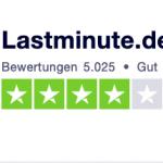 Lastminute.de Gutschein Bewertung