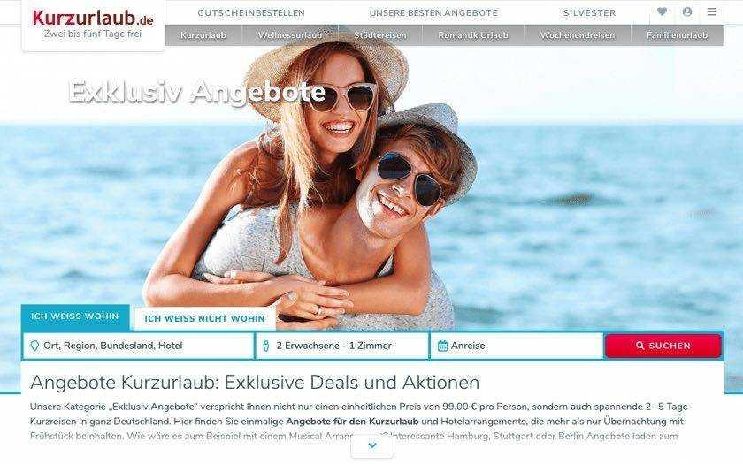 Kurzurlaub.de-Gutschein