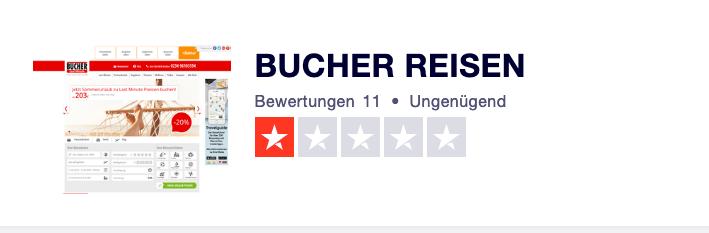 Bucher Reisen Gutschein Bewertungen