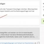 Lastminute.de Gutschein für Flug + Hotel eingeben.