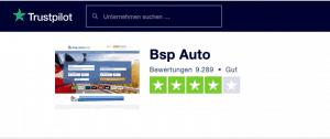 bsp-auto.com Trustpilot