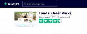 Landal Trustpilot