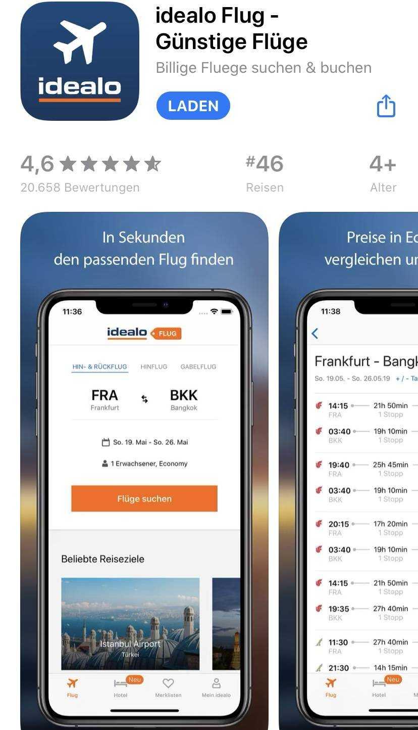 flug.idealo.de App